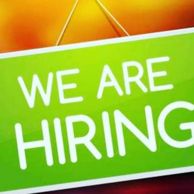 We are hiring experienced